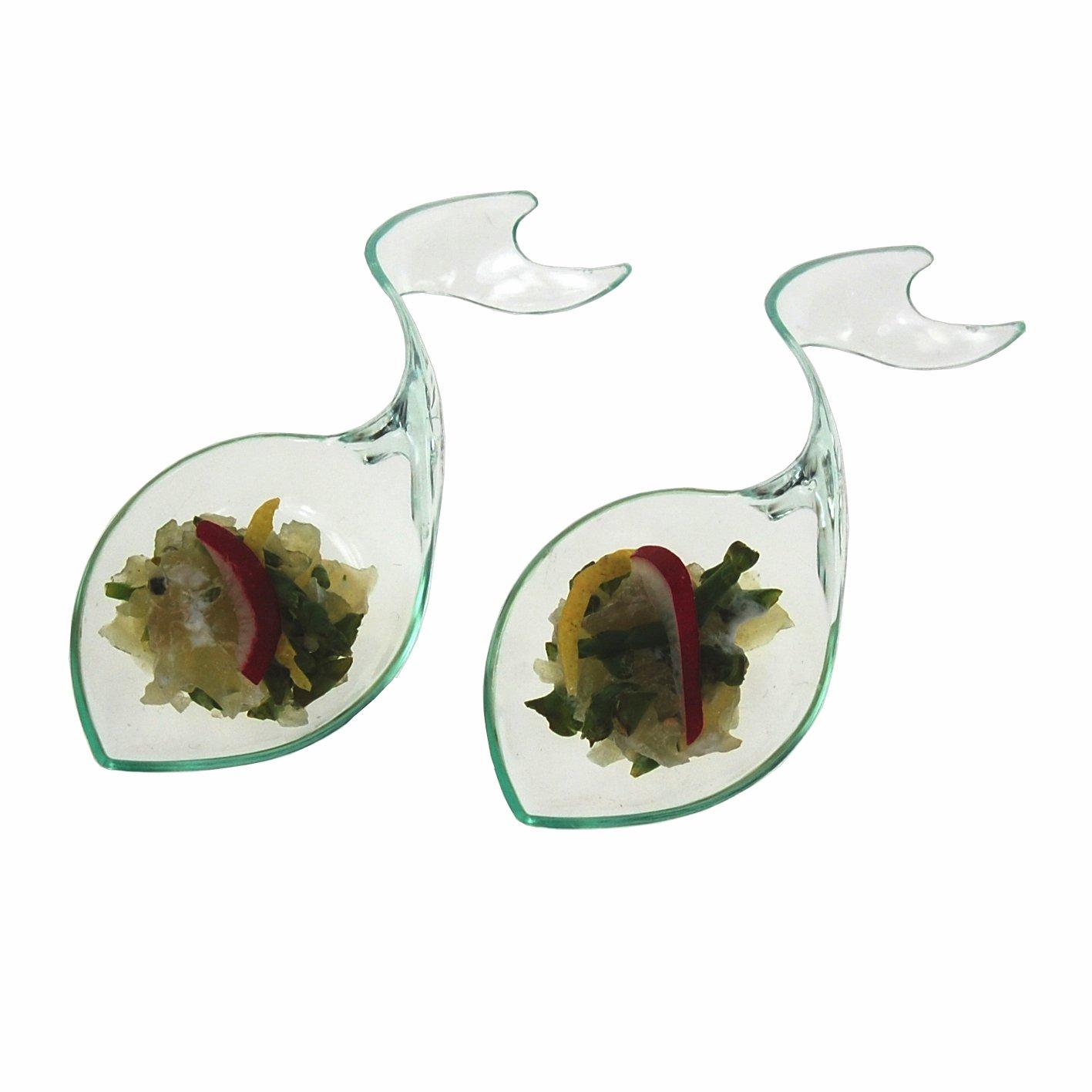 Cuchara Neptuno 9x4cm MMB28 Pack de 25 uds degustaciones de aperitivos en catering y hosteler/ía