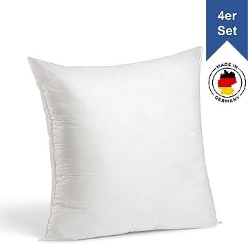 Kissenfüllung für Kissenhüllen Füllkissen Inlett Kissen 40 45 50 70 Polyester