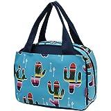 American Sarape Cactus Print NGIL Insulated Lunch Bag