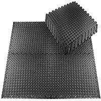 Set beschermmatten, 20 stuks, 30 x 30 cm, fitnessmatten, vloerbeschermingsmatten voor vloerbescherming tegen stoten…
