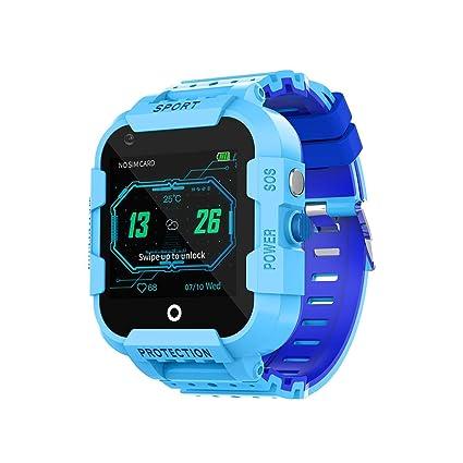 TEEKOO Smartwatch para niños, teléfono SIM con GPS Track Voice ...