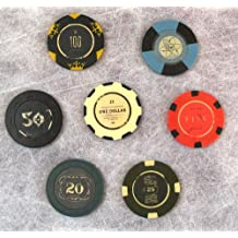 FALLOUT New Vegas Collector's Edition Lucky 7 Poker Chips by Obsidian Entertainment