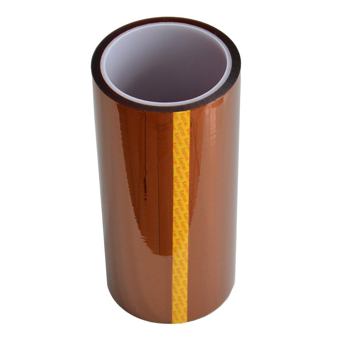 UEETEK 33M 200MM ad alta temperatura resistente al calore nastro Kapton Polyimide Film nastro adesivo
