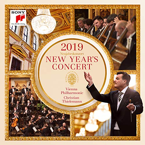Original album cover of New Year's Concert 2019 / Neujahrskonzert 2019 by Christian Thielemann & Wiener Philharmoniker