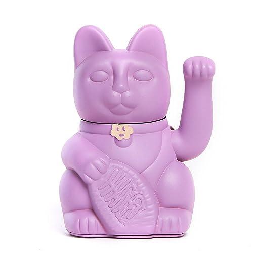 Gatete. El clásico Gato de la Suerte o la Fortuna o Maneki-Neko en divertidos colores. MALVA: