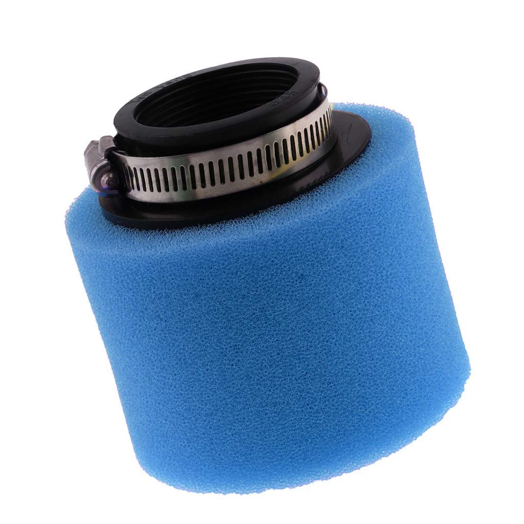 Unbekannt Universal-Schaumstoff-Luftfilter f/ür Pit Quad Dirt Bike ATV Buggy 45 mm blau