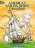 American Sailing Ships Coloring Book