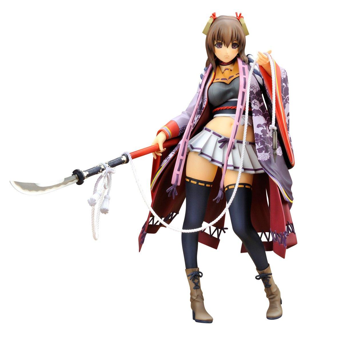 Hyakka ryouran samurai girls senhime 1 8 scale pvc figure amazon co uk toys games