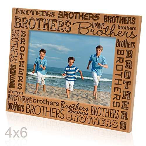 (Kate Posh - Brothers Picture Frame (4x6)