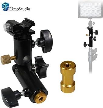 1//4 3//8 Tripod Screw Flash Mount Bracket Holder Camera Adapter 3 In 1 PACK Ponis-Limos