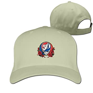 MINUCM Grateful Dead Steal Your Face 50th Anniversary Jerry Garcia Trucker  Hats  Amazon.co.uk  Sports   Outdoors 10d733d17b91