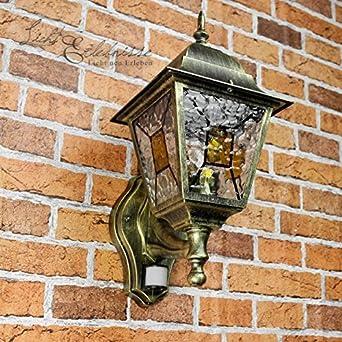 Ancien Xxl Luminaire Extérieur Mural Applique Murale Avec Détecteur