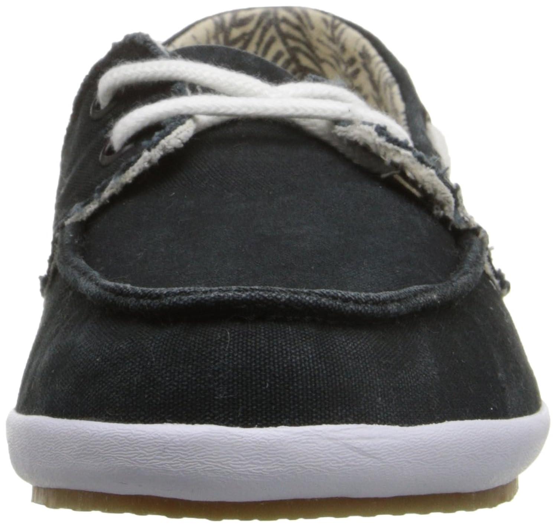 Amazoncom  Sanuk Womens Sailaway 2 Fray Boat Shoe  Loafers  SlipOns