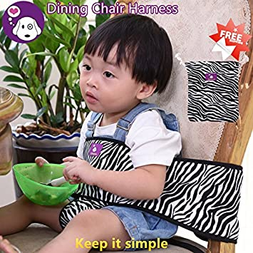 GOMAMA Baby Chair Harness Portable Travel High Chair Harness Toddler Safety Harness Baby feeding strap Shopping  sc 1 st  Amazon UK & GOMAMA Baby Chair Harness Portable Travel High Chair Harness Toddler ...