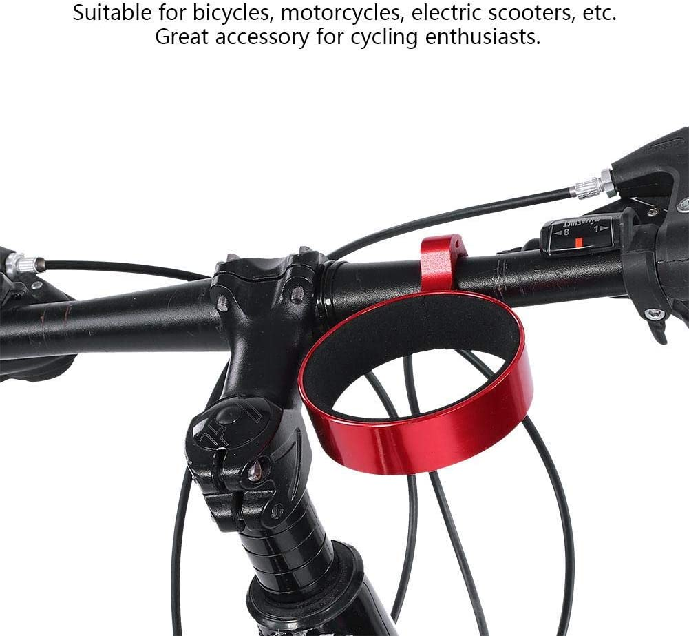 3 Inch Bike Handlebar Bottle Holder Coffee Drink Cup Cage Brackets Cycling Water Bottle Carrier