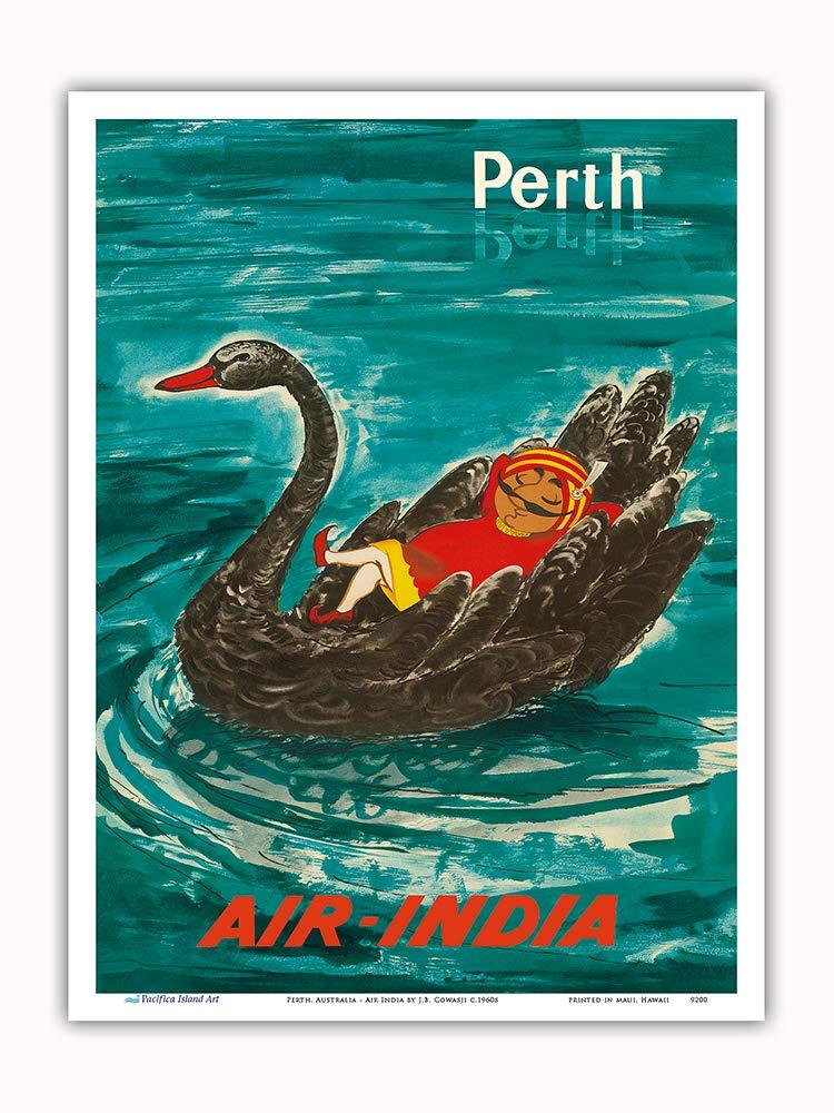 Pacifica Island Art Perth, Australia-Air India Mascot ...
