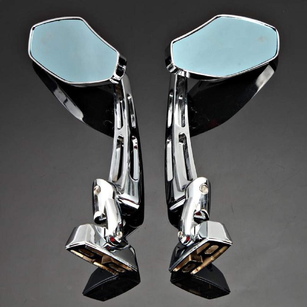 Black Racing Rearview Mirrors CNC Aluminum Anti-glare Side Mirror for Honda CBR 600 F3 F4i Kawasaki Ninja ZX 6 7 9 12 Yamaha FZR YZF R1 R6 S Suzuki GSXR Hayabusa INNOGLOW Motorcycle Mirrors
