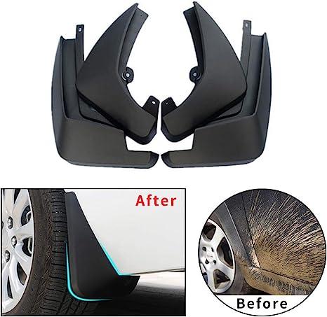 4pcs Plastic Tire Mudguard Splash Guards Mud Flaps For Hyundai Sonata 2015-2017