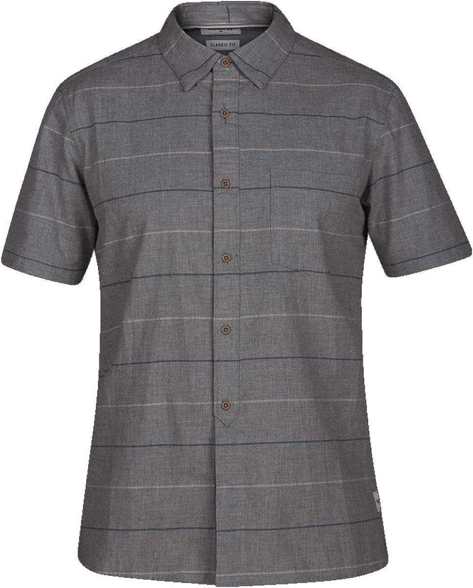 Hurley AJ1855 Mens Clifton Short Sleeve Shirt