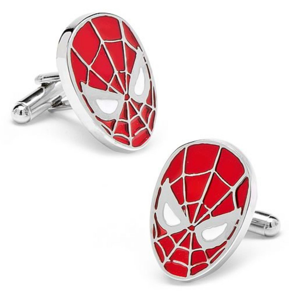 Albetro Button Up Superhero Cufflinks for Men