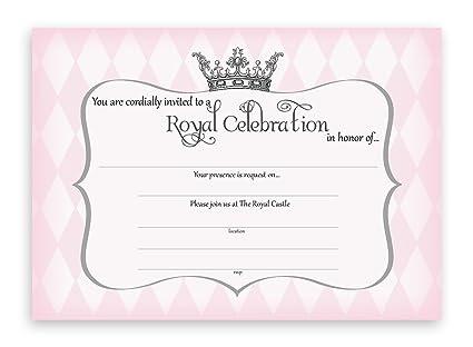 Amazon Com Princess Party Invitations 10 Invitations 10
