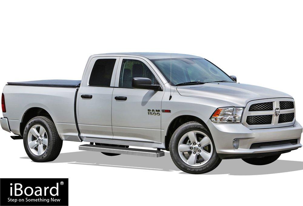 iBoard Running Boards 5 Custom Fit 2009-2018 Dodge Ram 1500 Quad Cab Pickup 4-Door Nerf Bars | Side Steps | Side Bars