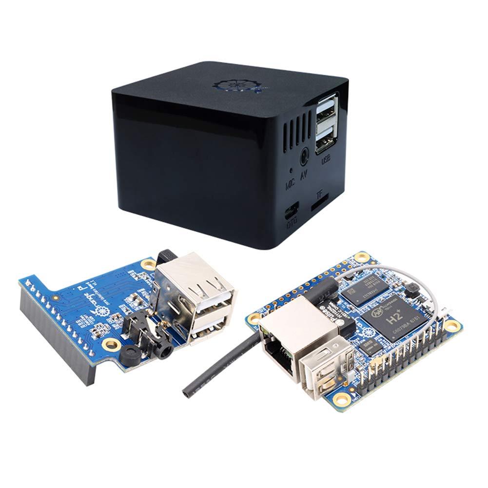 Taidacent Orange Pi Zero 256 MB Allwinner H2 Quad Core A7 Development Board with Adapter Baord and Case Super Raspberry Pi
