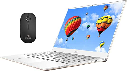 2020 Dell XPS 13 7390 13.3 inch 4K 2160P Touchscreen Laptop| Intel Core i7-10710U up to 4.7GHz| 16GB RAM| 512GB SSD| Backlit KB| FP Reader| Win10| Gold + NexiGo Wireless Mouse Bundle