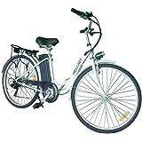 HE-Bikes Helliot Bicicleta de Paseo Eléctrica, Unisex Adulto