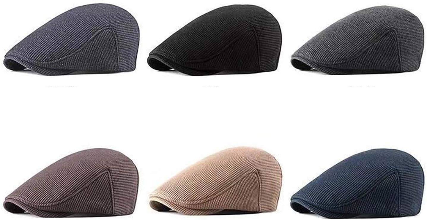 M/ütze Herren Winter Kappe Schieberm/ütze Gatsby Newsboy Stil Flatcap Schirmm/ütze