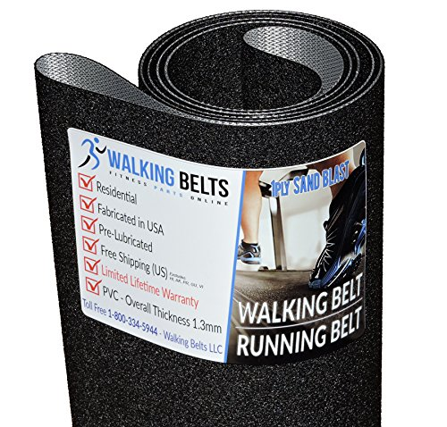 Life Fitness Model FTR Part # FTR-0000-01 Treadmill Running Belt 1ply Sand Blast by WALKINGBELTS-LLC