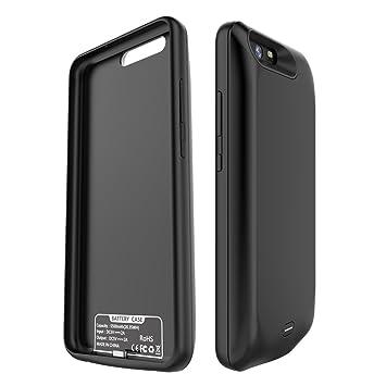 Huawei P10 Plus Batería Funda, FugouSell 5500mAh Externo Batería Cargador Case Rápido Cargando Rechargeable Backup Pack Power Bank Protector Cover ...