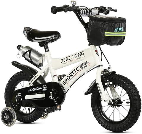 SXZHSM - Bicicletas para niños y niñas, juguetes para bebés 2-3-6-8 al aire libre,