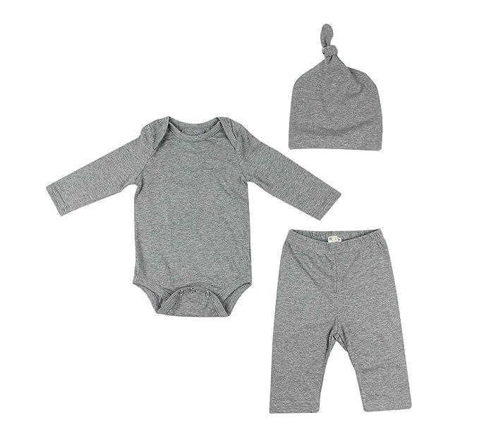 56416012f Modal Cotton Thermal Long Underwear Set Breathing Base Layer Long John  Pajama for Boy Girl Toddler (6~12M, Baby Gray): Amazon.co.uk: Clothing