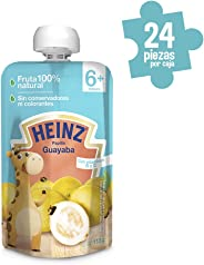 Heinz Papilla para Bebé, Sabor Guayaba, 113 g, 24 Piezas