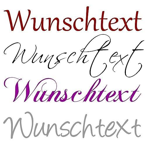 Wandtattoo Selbst Gestalten Hmwunschtext Text Nach Wunsch