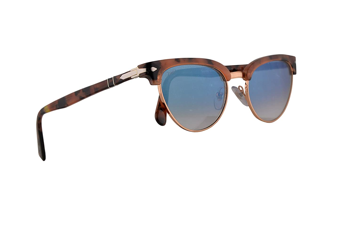 cb57ae51f7 Amazon.com  Persol PO3198S Tailoring Edition Sunglasses Tortoise Pink  w Blue Gradient 51mm Lens 10693F PO 3198S PO 3198-S PO3198-S  Clothing
