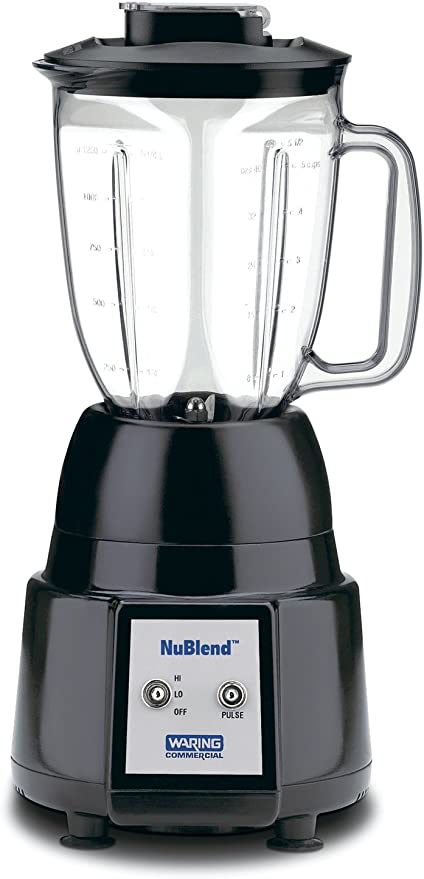 Waring Bb180 44 Oz Commercial Blender Nublend Series Electric Countertop Blenders Kitchen Dining