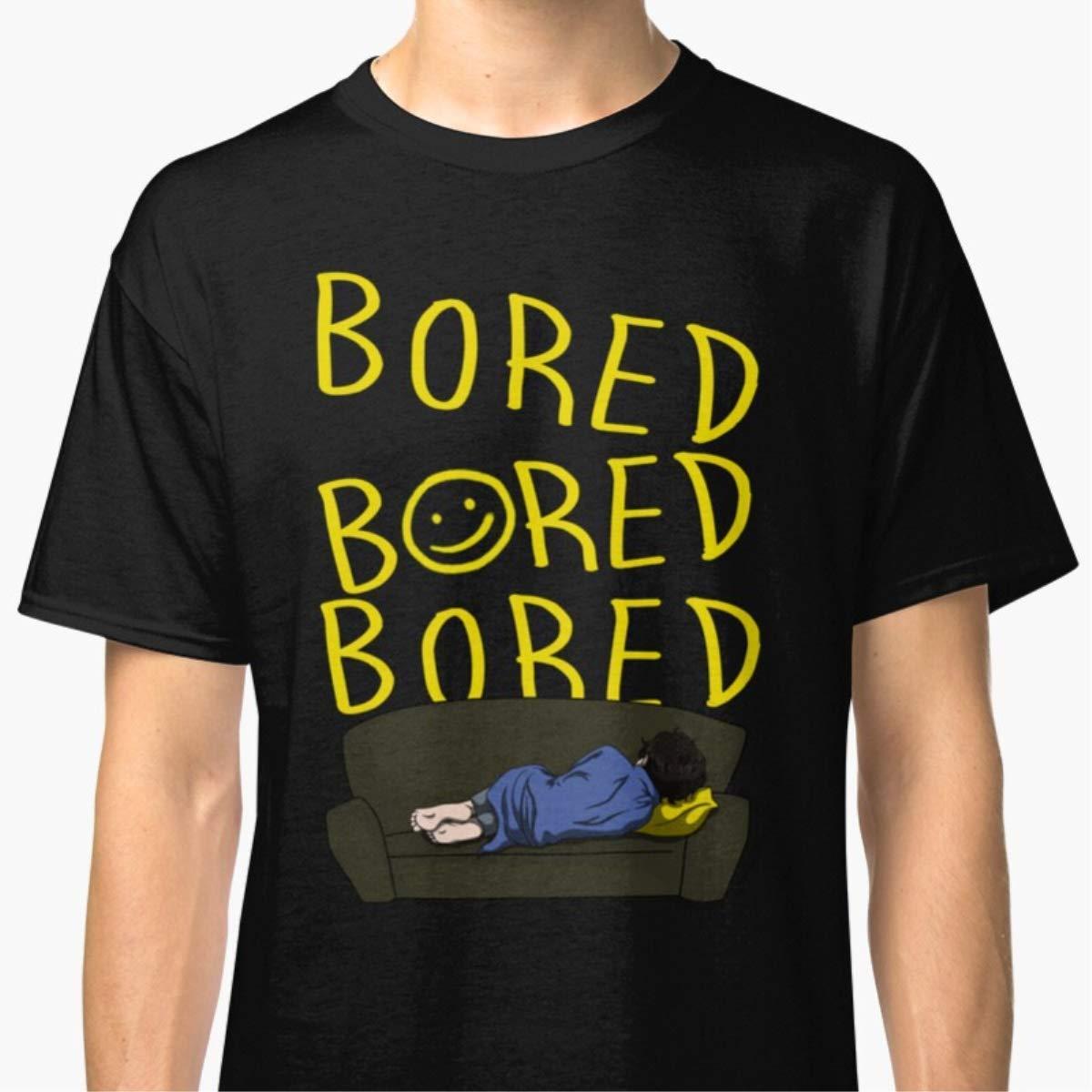 Unisex T-Shirt Bored Sherlock Shirts For Men Women Mon Dad Mothers Day