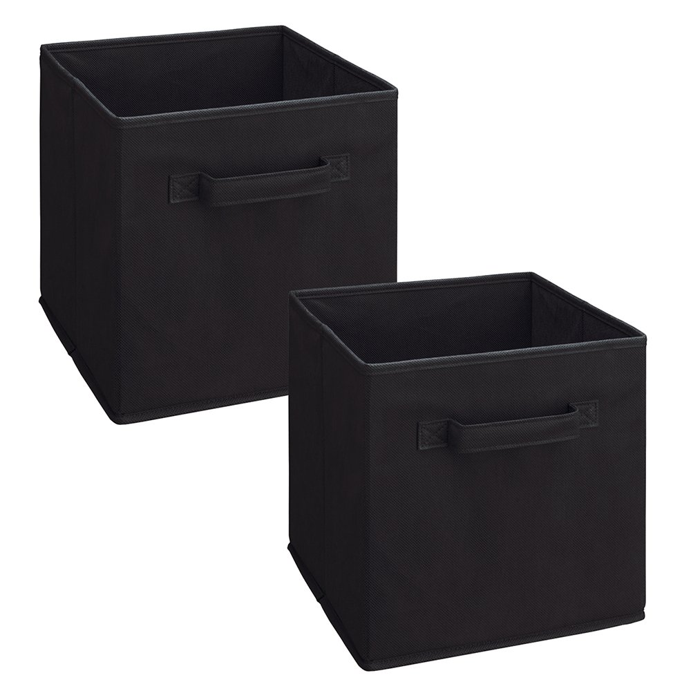 Amazon.com: ClosetMaid 8298 Cubeicals Fabric Drawer, Black, 2 Pack: Home U0026  Kitchen