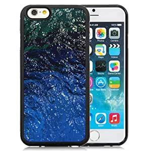 Fashionable Custom Designed iPhone 6 4.7 Inch TPU Phone Case With Shiny Water Texture Reflections_Black Phone Case