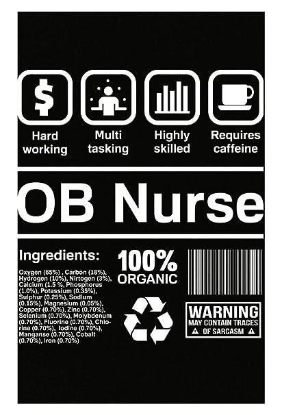 Amazon com: Esparosa OB Nurse Gifts Funny Obstetrics Nurse - Poster