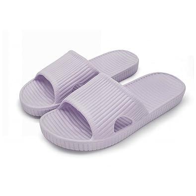 06ca85cd0 Qiucdzi Bathroom Shower Slippers Women s and Men s Summer Non Slip House  Sandals Soft Pool Beach Shoes