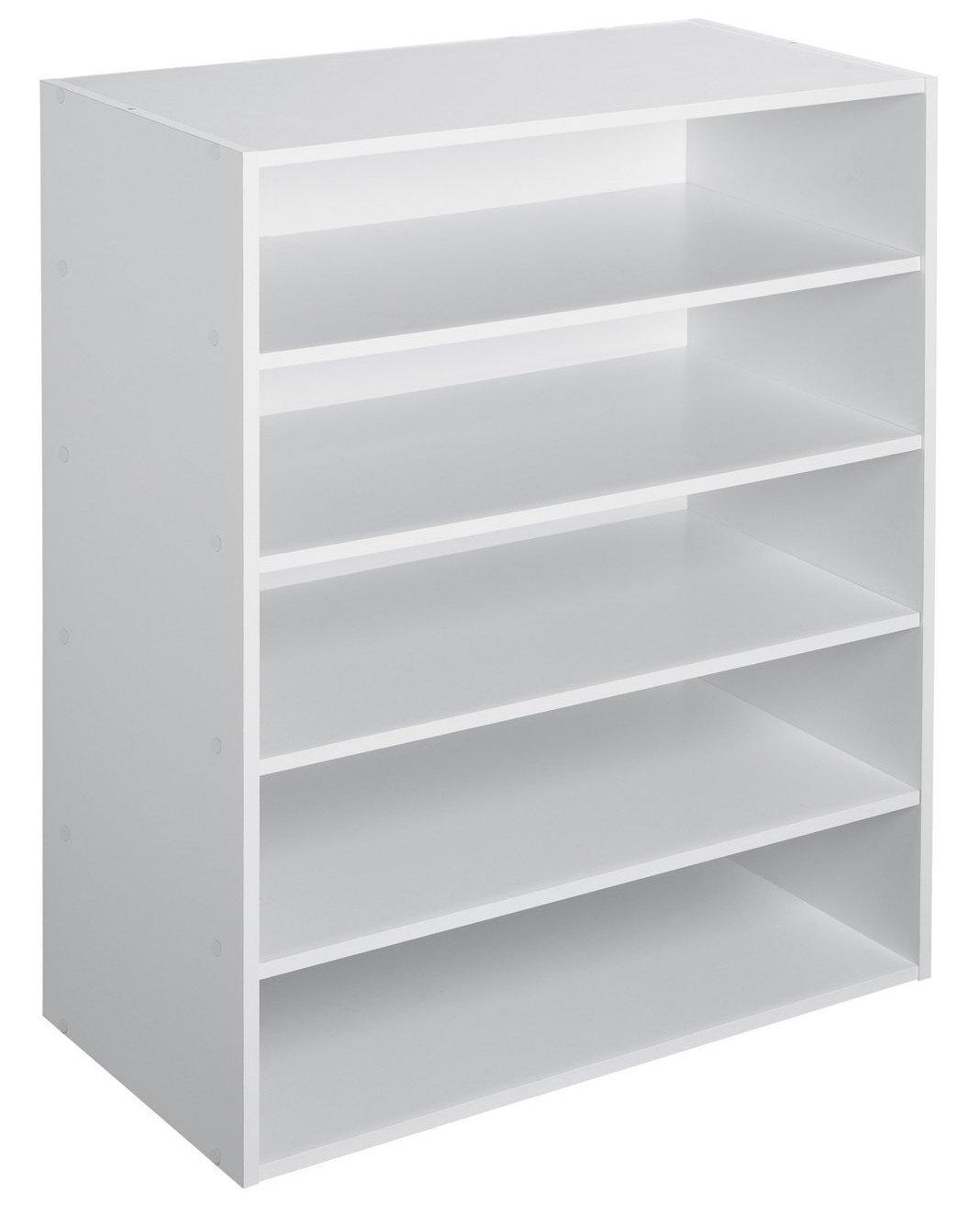 Attrayant Amazon.com: ClosetMaid 1565 Stackable 5 Shelf Organizer, White: Home U0026  Kitchen