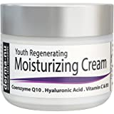 Anti Aging Cream For Face & Eyes - Best Facial Cream for Wrinkles & Dry Skin - Moisturizer for Day & Night with Vitamin C, Hyaluronic Acid & CoQ10-2oz