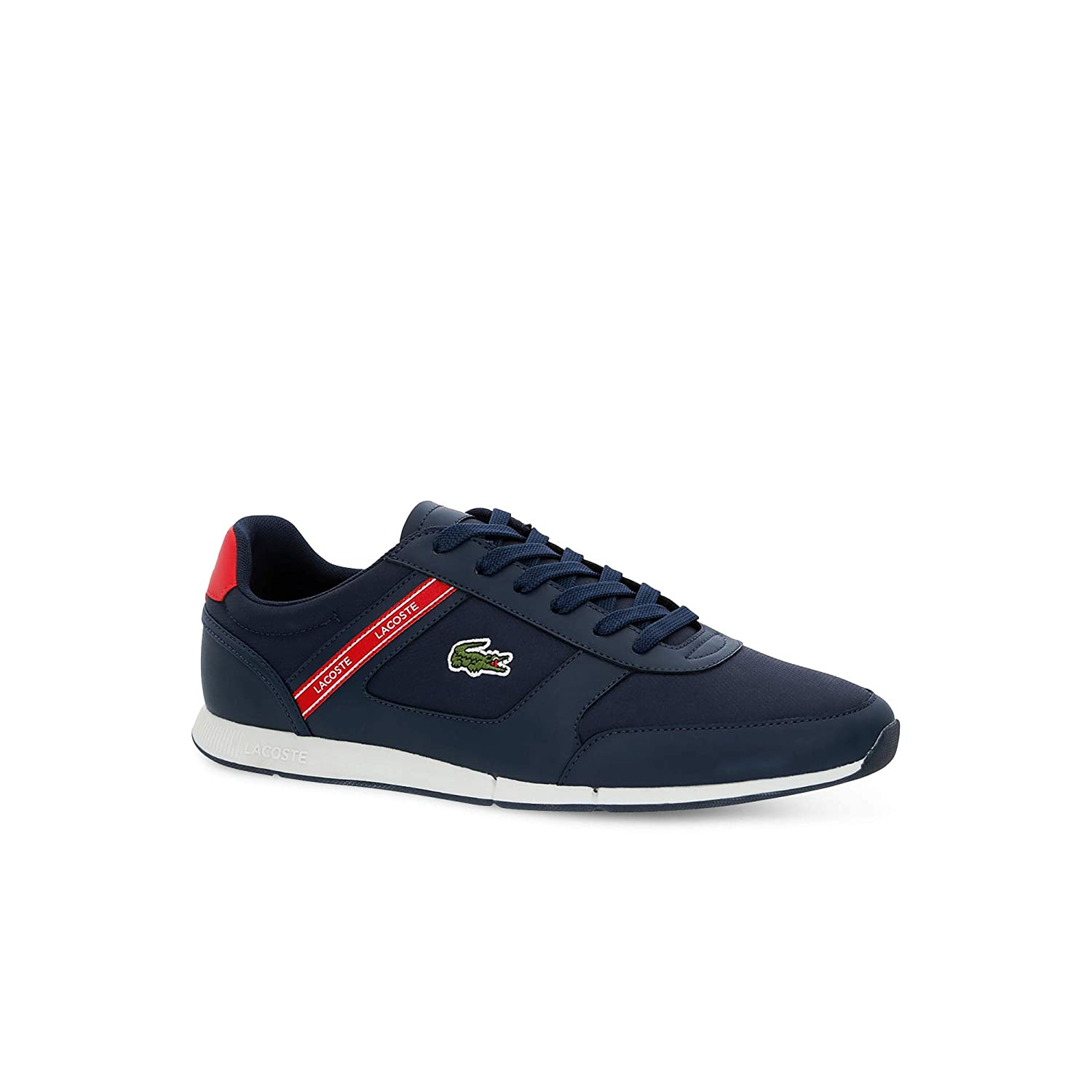 Navy rouge Lacoste - Chaussures Homme Sportswear - 37CMA0064