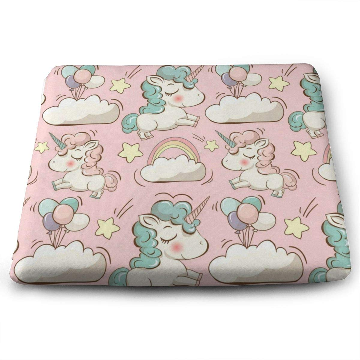 Astonishing Amazon Com Ladninag Seat Cushion Cute Pink Unicorn Chair Gmtry Best Dining Table And Chair Ideas Images Gmtryco