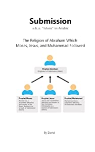 """Submission a.k.a. """"Islam"""" in Arabic: The Religion of Abraham Which  Moses, Jesus, and Muhammad Followed"""