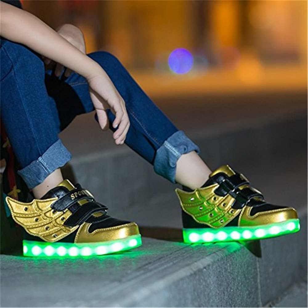 Toddler Baby Fashion Sneakers Star Luminous Child Casual Colorful Light Shoes