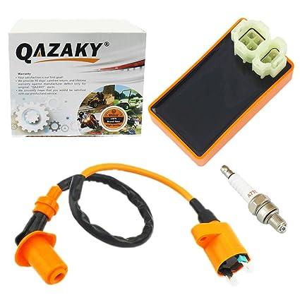 Awesome Amazon Com Qazaky Performance Ignition Coil Spark Plug Ac 6 Wiring Database Gramgelartorg